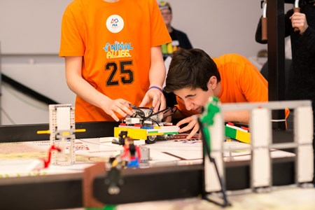 First Lego League flytter til Billund Centret