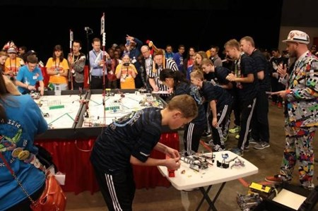 FIRST LEGO League har vokseværk